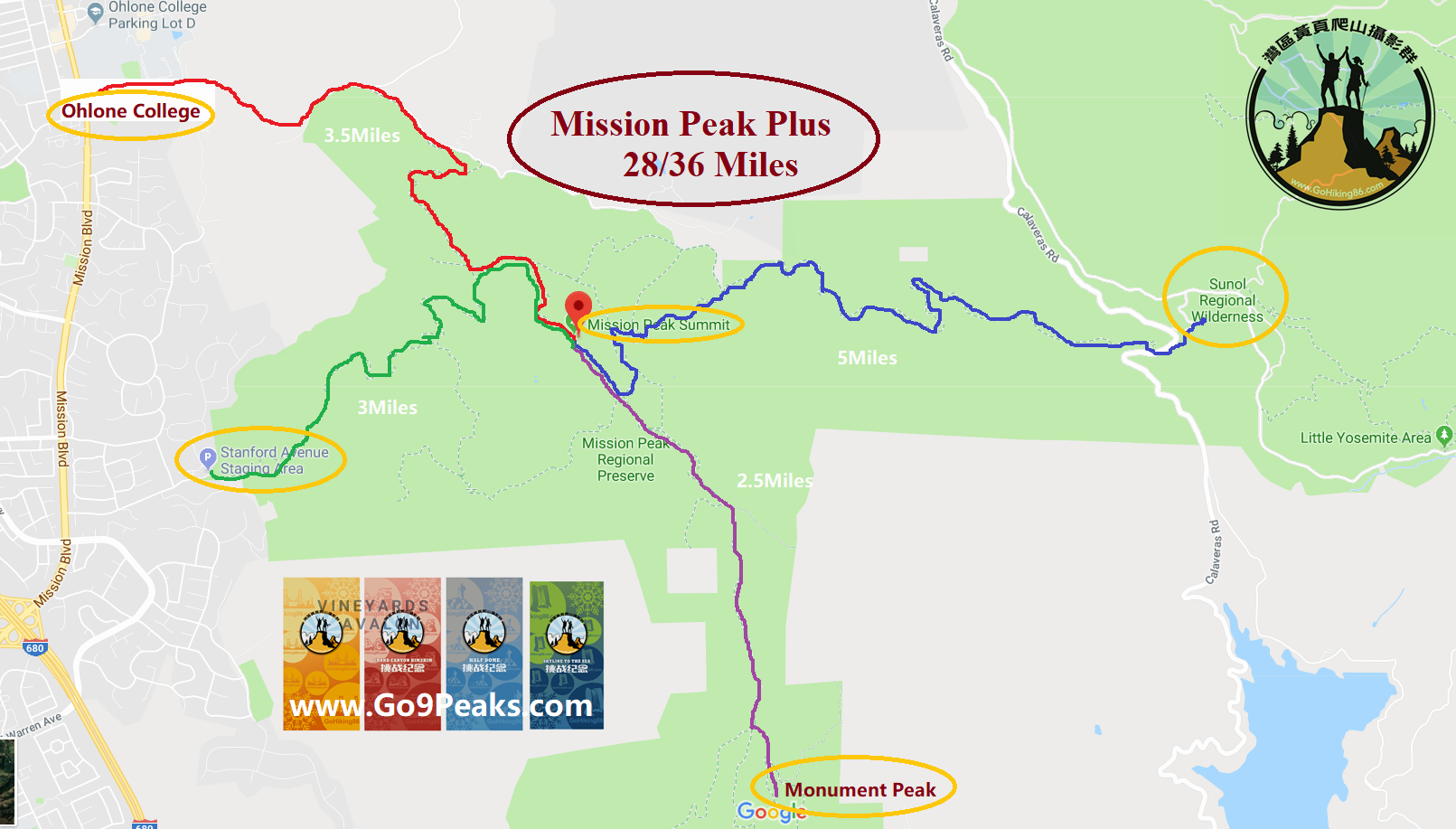 Mission Peak Plus_hiking_trailmap